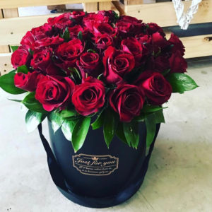 40 Roses in a box