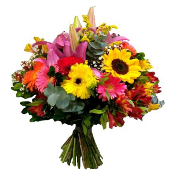Bouquets of Mixed Seasonal Flowers