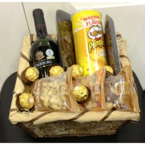 Nuts and Wine Hamper H08