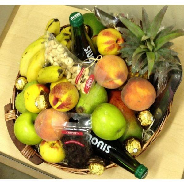 Large Fruit Basket H12