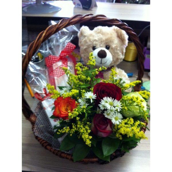 Teddy Basket H01